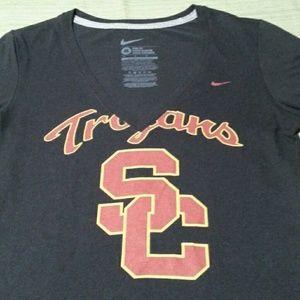 USC TROJANS FOOTBALL TEAM BEAUTIFUL TOP EXCELLENT